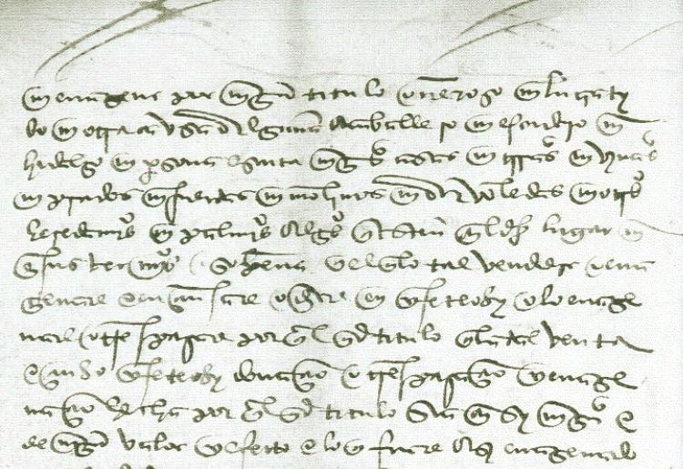 Ampliados De Las Ordenanzas Originales  Letra Cursiva Procesal